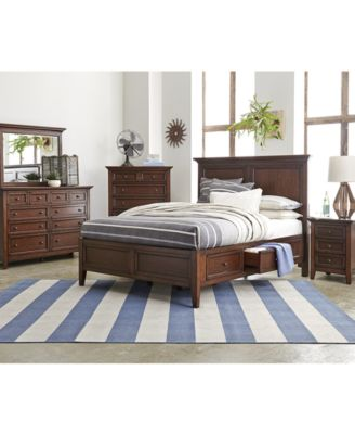 Matteo Storage Platform Bedroom 3 Piece Bedroom Set, Created for ...