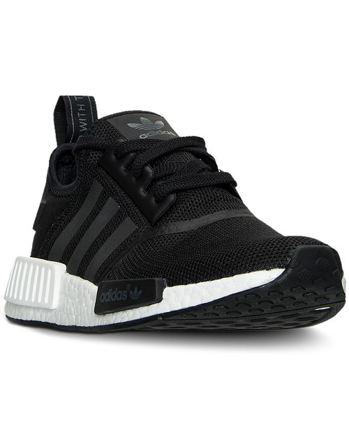 47c6245ce adidas Big Boys  NMD Casual Sneakers from Finish Line   Reviews ...