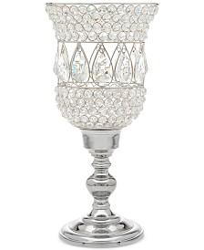 Godinger Lighting by Design Crystal Hurricane Candle Holder