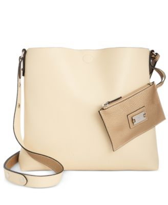 Image of Style & Co Clean Cut  Reversible Crossbody, Only at Macy's