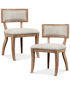 Dax Set of 2 Dining Chairs, Quick Ship