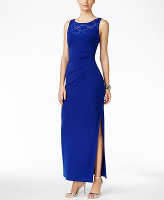 Connected Embellished Ruched Gown Mother Of The Bride Women Macys