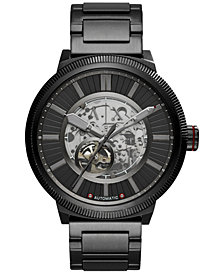 A|X Armani Exchange Men's Automatic ATLC Black Stainless Steel Bracelet Watch 49mm AX1416