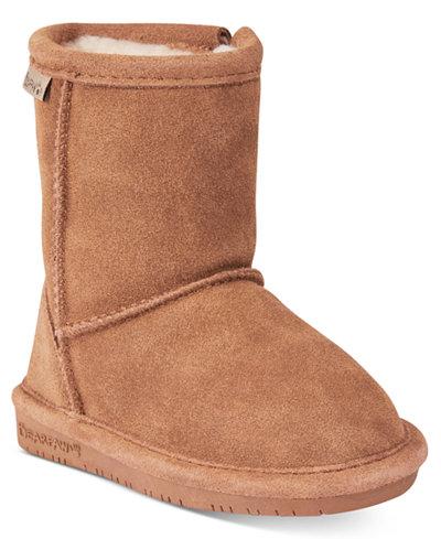 BEARPAW Emma Zip Boots, Toddler Girls (4.5-10.5) & Little Girls (11-3)