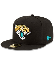 Jacksonville Jaguars Team Basic 59FIFTY Fitted Cap