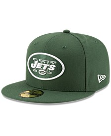 New York Jets Team Basic 59FIFTY Fitted Cap