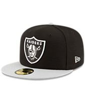 ab1a6f9f9b9 New Era Oakland Raiders Team Basic 59FIFTY Fitted Cap
