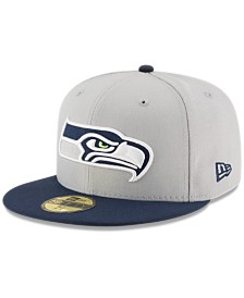 New Era Seattle Seahawks Team Basic 59FIFTY Fitted Cap