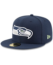 Seattle Seahawks Team Basic 59FIFTY Fitted Cap