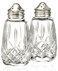 Waterford Serveware, Lismore Salt & Pepper Shakers