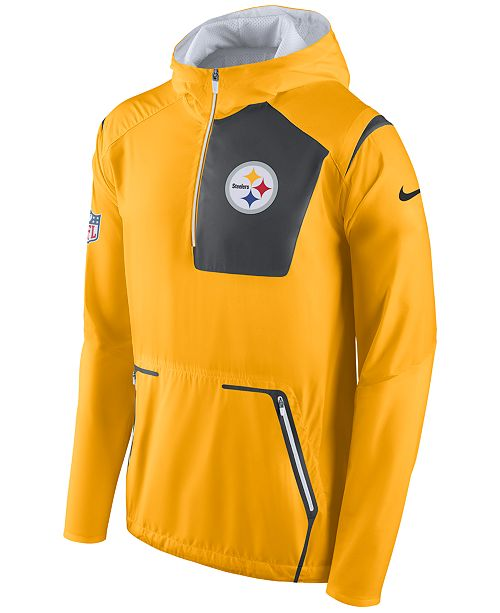 best sneakers bd264 7401d Nike Men's Pittsburgh Steelers Alpha Fly Rush Jacket ...