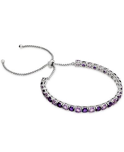 Amethyst Slider Bracelet (5 ct. t.w.) in Sterling Silver