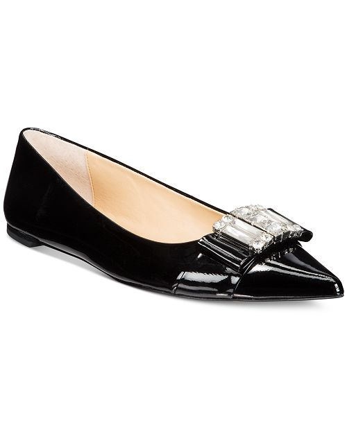 78acfdbb9e2f Michael Kors Michelle Pointed-Toe Flats   Reviews - Flats - Shoes ...