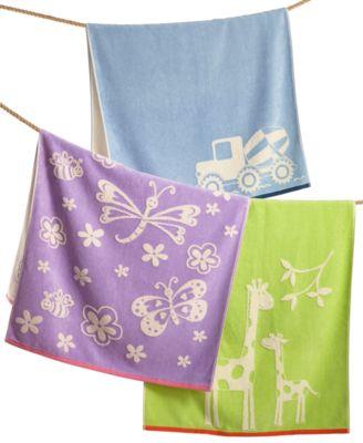 Kassatex Kidsu0027 Kassa Bath Towel Collection