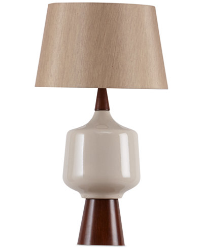 CLOSEOUT! INK+IVY Monae Ceramic Table Lamp