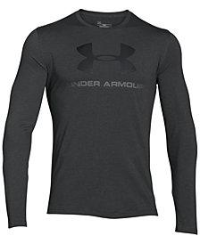 Under Armour Men's Long-Sleeve Logo T-Shirt