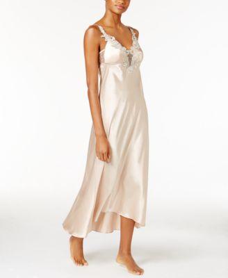 Stella Satin Venise Trim Nightgown