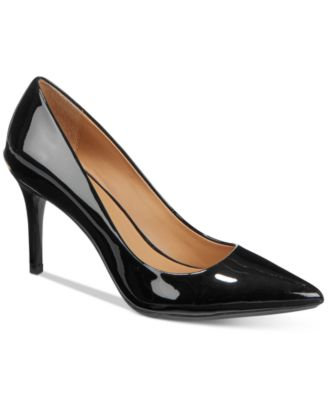 calvin kline pointed toe pumps