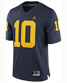 Men's Tom Brady Michigan Wolverines Player Game Jersey