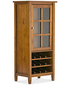Burbank High Storage Wine Rack, Quick Ship