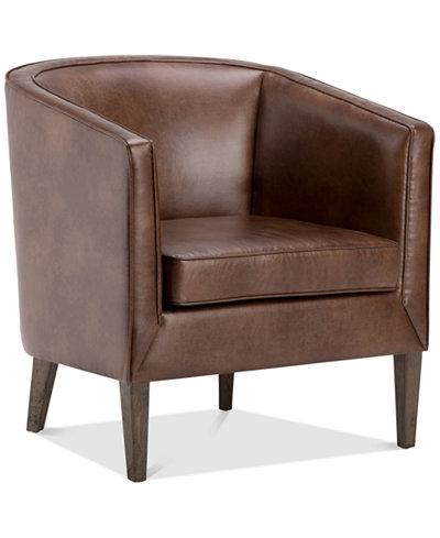 Hayden Tub Chair, Quick Ship - Furniture - Macy\'s