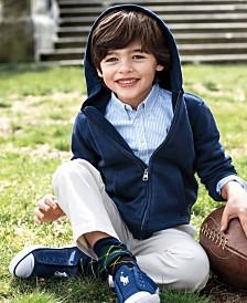 ralph lauren full zip hoodie blake oxford shirt suffield pants little boys - Pictures For Little Boys
