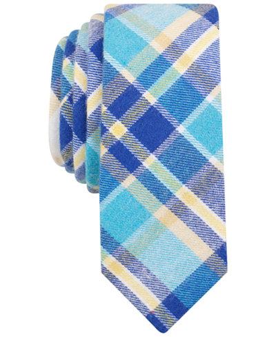 Original Penguin Men's Waldis Plaid Skinny Tie