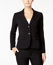 Two-Button Stretch Blazer
