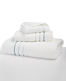 "Hotel Collection Ultimate Borderline 13"" Square Washcloth, Created for Macy's"