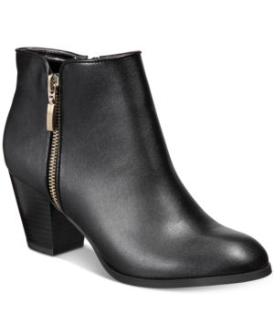 Style & Co Jamila Zip Booties, Created for Macy