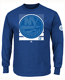 Majestic Men's New York Islanders Slashing Long Sleeve T-shirt