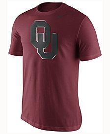 Nike Men's Oklahoma Sooners  Champ Drive Reflective Logo T-Shirt