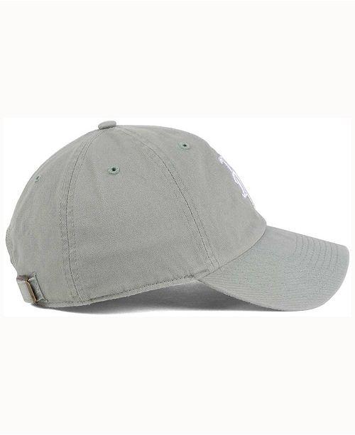 buy popular 6c6e0 87ae4  47 Brand New York Mets Gray White CLEAN UP Cap    ...