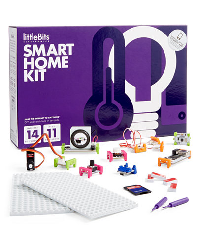 littlebits smart home kit toys games kids baby. Black Bedroom Furniture Sets. Home Design Ideas