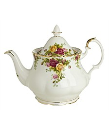 """""""Old Country Roses"""" Teapot"""