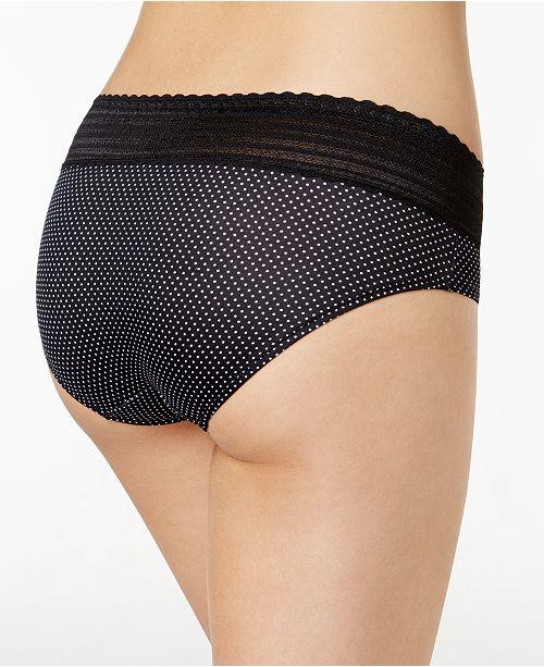 cc51a523c177 Warner's No Pinching No Problems Lace Hipster Panty 5609J & Reviews ...