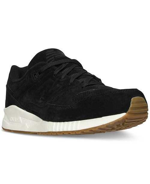 22745f6e18 New Balance Men's 530 Lux Suede Casual Sneakers from Finish Line ...