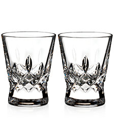 Waterford Lismore Pops Clear Shot Glasses, Set Of 2