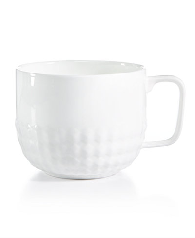 CLOSEOUT! Hotel Collection Apex Texture Mug, Created for Macy's