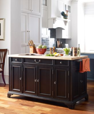Rachael Ray Upstate Home Kitchen Island. Furniture