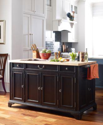 rachael ray upstate home kitchen island rachael ray upstate home kitchen island   furniture   macy u0027s  rh   macys com