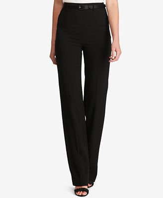 Polo Ralph Lauren Wide-Leg Tuxedo Pants - Pants - Women - Macy's