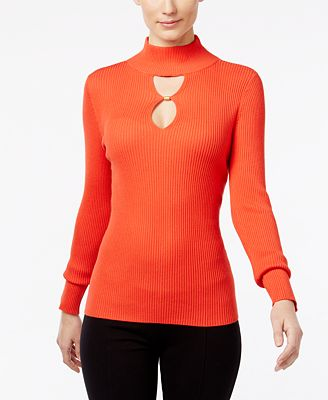INC International Concepts Keyhole Sweater, Created for Macy's ...