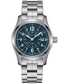 Hamilton Men's Swiss Automatic Khaki Field Stainless Steel Bracelet Watch 42mm H70605143
