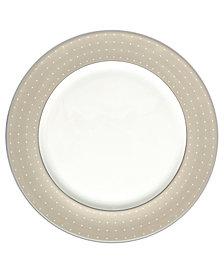 Monique Lhuillier Waterford Dinnerware, Etoile Platinum Tan Charger Plate
