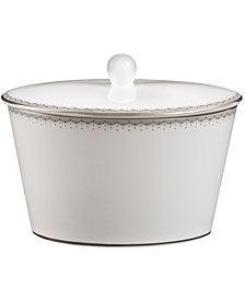Monique Lhuillier Waterford Dinnerware, Dentelle Covered Sugar Bowl
