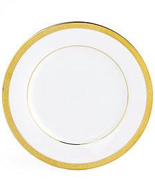 Charter Club Grand Buffet Gold Appetizer Plate