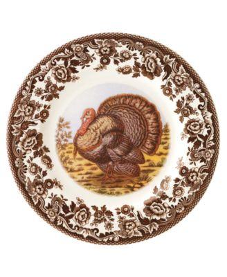 """""""Woodland"""" Turkey Salad Plate"""