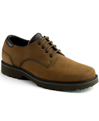 Rockport Waterproof Nubuck Northfield Oxford Shoes