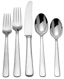 Silver Echo 5-Piece Place Setting